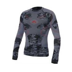 Koszulka termoaktywna ADRENALINE GLACIER kolor czarny/szary