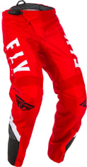 Spodnie cross/enduro FLY RACING F-16 kolor biały/czarny/czerwony