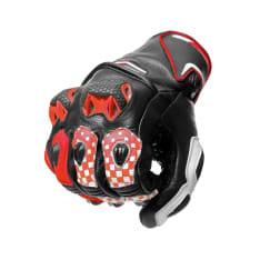 Rękawice sportowe SPYKE TECH SPORT VENTED kolor biały/czarny/czerwony/fluo