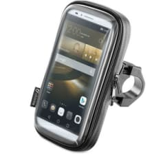 Uchwyt na telefon INTERPHONE UNICASE (montowany do kierownicy, uniwersalny)