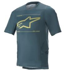 Koszulka rowerowa ALPINESTARS DROP 6.0 S/S JERSEY kolor turkusowy