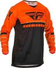 Koszulka off road FLY RACING KINETIC K120 kolor biały/czarny/pomarańczowy