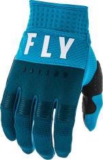 Rękawice off road FLY RACING F-16 kolor biały/granatowy/niebieski