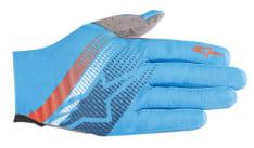 Rękawice rowerowe ALPINESTARS PREDATOR kolor niebieski/pomarańczowy