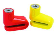 Blokada tarczy hamulcowej OXFORD JUNIOR kolor żółty pin 5mm