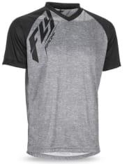 Koszulka rowerowa FLY ACTION kolor czarny/szary