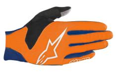 Rękawice rowerowe ALPINESTARS AERO V3 kolor niebieski/pomarańczowy
