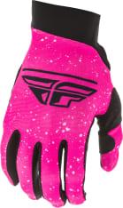 Rękawice off road FLY RACING Women's Pro Lite kolor czarny/fluorescencyjny/różowy