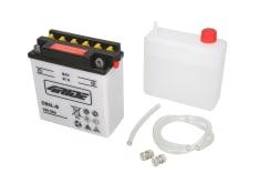 Akumulator Kwasowy/Obsługowy/Rozruchowy 4 RIDE 12V 5Ah 65A P+ odpowietrzenie z prawej 121x61x131 Suchoładowany z elektrolitem YB5L-B BENELLI K2; HONDA C, MBX, NH, NS; KAWASAKI AR 25-650 1973-