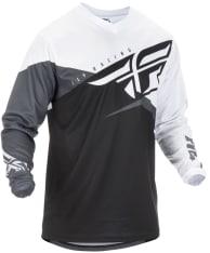 Koszulka off road FLY RACING F-16 kolor biały/czarny/szary