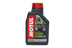 Olej do silników 4T 4T MOTUL 5100 SAE 10W40 1l SM JASO MA-2 Półsyntetyczny wzbogacony estrami