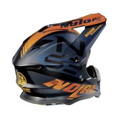 Kask cross/enduro NOLAN N53 WHOOP 47 kolor czarny/granatowy/matowy/pomarańczowy