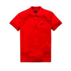 Koszulka polo CAPITAL POLO ALPINESTARS kolor czerwony
