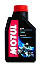 Olej do silników 2T 2T MOTUL 100 1l TC JASO FB Mineralny
