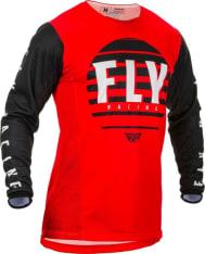 Koszulka off road FLY RACING KINETIC K220 kolor biały/czarny/czerwony