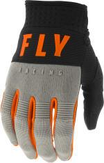 Rękawice off road FLY RACING F-16 kolor czarny/pomarańczowy/szary