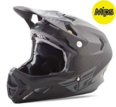 Kask rowerowy FLY WERX (Mips) RIVAL kolor czarny/matowy/szary
