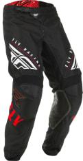 Spodnie cross/enduro FLY RACING KINETIC K220 kolor biały/czarny/czerwony