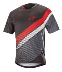 Koszulka rowerowa ALPINESTARS PREDATOR kolor czarny/czerwony/szary