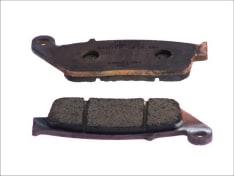 Klocki hamulcowe przód/tył, przeznaczenie: droga, materiał: sinter-ST, 102x39x8,3mm BMW C; CAGIVA GRAN CANYON, NAVIGATOR; HONDA CB, CB-1, CBF, CBR, CMX, GL, NM4, NSS, NT, NTV, PC, ST 125-1700 1987-