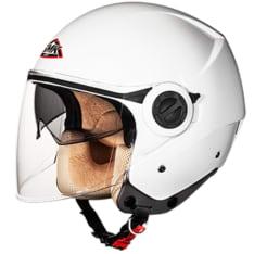 Kask otwarty SMK COOPER WHITE GL100 kolor biały