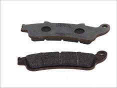Klocki hamulcowe przód/tył, przeznaczenie: droga, materiał: platinum-P, 115,6x41x8mm HONDA CBR, FES; KAWASAKI VN 125/650/1100 1996-