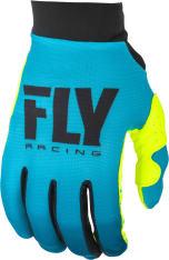 Rękawice cross/enduro FLY RACING Women's Pro Lite kolor fluorescencyjny/niebieski/żółty
