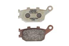 Klocki hamulcowe przód/tył, przeznaczenie: droga, materiał: platinum-P, 86,1x40,2x9,3mm HONDA CB, CBF, CBR, VTR; KAWASAKI KLZ; SUZUKI DL, GSF, SV; YAMAHA FZ1, FZ6, MT-03, TRACER, XJ6 500-1250 1991-