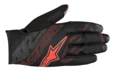 Rękawice rowerowe ALPINESTARS STRATUS kolor czarny/czerwony