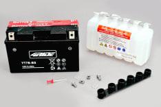 Akumulator AGM/Bezobsługowy/Rozruchowy 4 RIDE 12V 6Ah 85A L+ 150x65x93 Suchoładowany z elektrolitem BETA ALP, M4; KYMCO QUANNON; SUZUKI DR-Z; TRIUMPH DAYTONA; YAMAHA TT-R, XC, YP 125-675 1996-