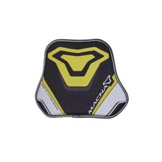 Ochraniacz klatki piersiowej MACNA CHEST kolor czarny/żółty, rozmiar OS