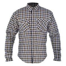 Koszula KICKBACK OXFORD kolor khaki/biały