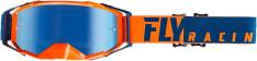 Gogle motocyklowe FLY RACING 2019 Zone Pro kolor niebieski/pomarańczowy