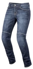Spodnie Jeans ALPINESTARS DAISY turystyczne kolor niebieski