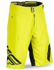 Spodenki rowerowe FLY RADIUM kolor czarny/żółty