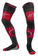 Skarpety KNEE BRACE ALPINESTARS MX kolor czarny/czerwony/szary