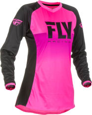 Koszulka off road FLY RACING Women's Lite kolor fluorescencyjny/różowy