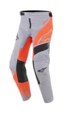 Spodnie cross/enduro ALPINESTARS MX YOUTH RACER SUPERMATIC kolor czarny/fluorescencyjny/pomarańczowy/szary
