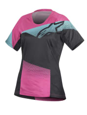 Koszulka rowerowa ALPINESTARS STELLA MESA kolor czarny/różowy