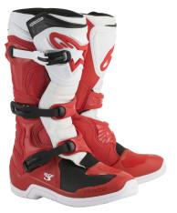 Buty cross/enduro TECH 3 ALPINESTARS MX kolor biały/czerwony