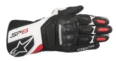 Rękawice sportowe ALPINESTARS SP-8 V2 GLOVES kolor biały/czarny/czerwony
