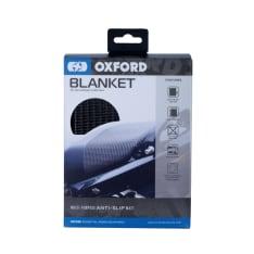 Koc zabezpieczający OXFORD kolor czarny długość: 900mm; możliwość zamontowania na kanapie pasażera