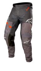Spodnie cross/enduro ALPINESTARS MX RACER FLAGSHIP kolor czarny/fluorescencyjny/pomarańczowy/szary