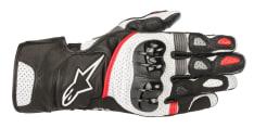 Rękawice sportowe ALPINESTARS SP-2 V2 kolor biały/czarny/czerwony