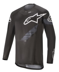 Koszulka rowerowa ALPINESTARS TECHSTAR LS JERSEY BLACK EDITION kolor czarny