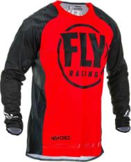 Koszulka off road FLY RACING Evolution kolor czarny/czerwony