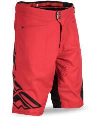 Spodenki rowerowe FLY RADIUM kolor czarny/czerwony