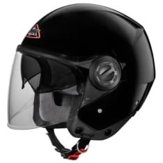 Kask otwarty SMK COOPER BLACK GL200 kolor czarny