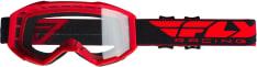 Gogle motocyklowe FLY RACING 2019 Focus kolor czerwony