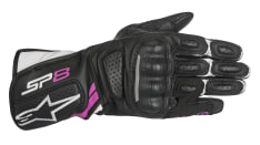 Rękawice sportowe ALPINESTARS STELLA SP-8 V2 GLOVES kolor biały/czarny/fuksja